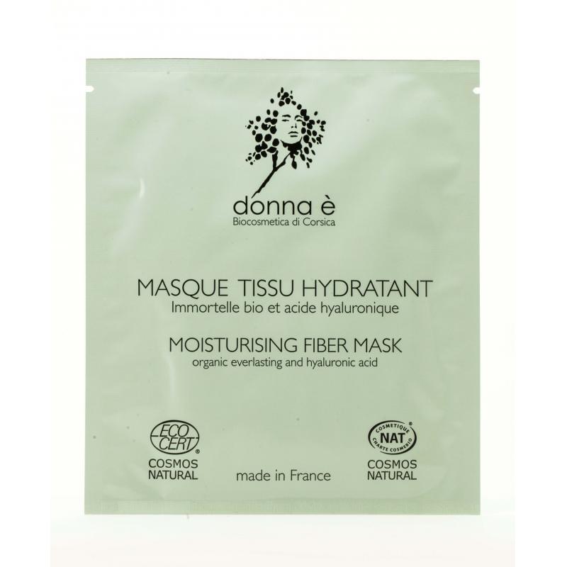 Masque Tissu Hydratant Immortelle - 20mL