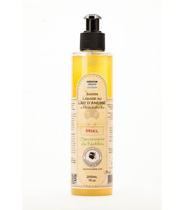Savon Liquide au Miel et Lait d'Anesse - 200 ml