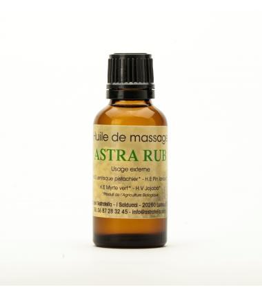 Huile de massage Astra'Rub - 30mL