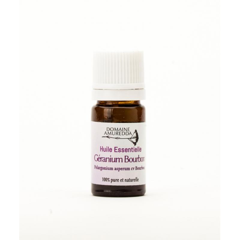 Huile Essentielle de Geranium Bourbon Bio - 5mL